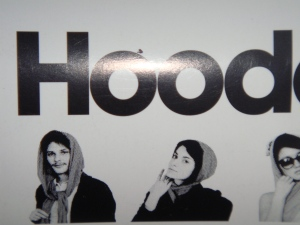 Packaging for American Apparel Hooded Scarf